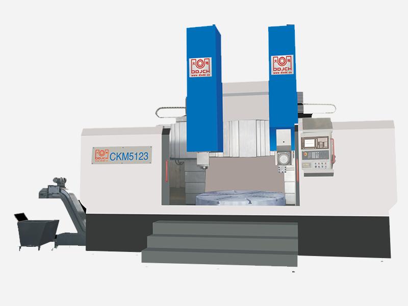 CKM51系列单柱数控立式车磨复合机床