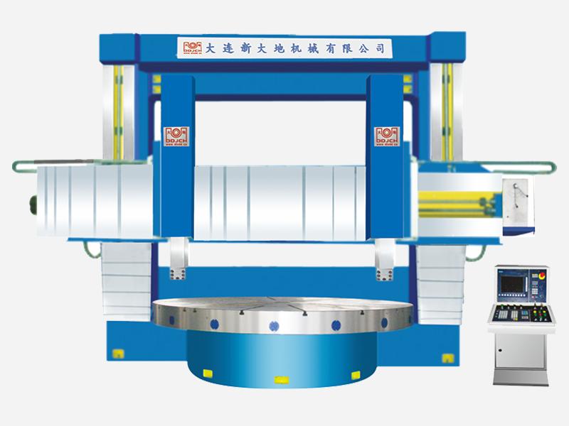 CK52系列双柱数控立式机床